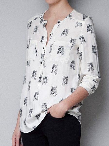 13cb1e96c7f23 Ladies printed blouse – KOTUWEKADE
